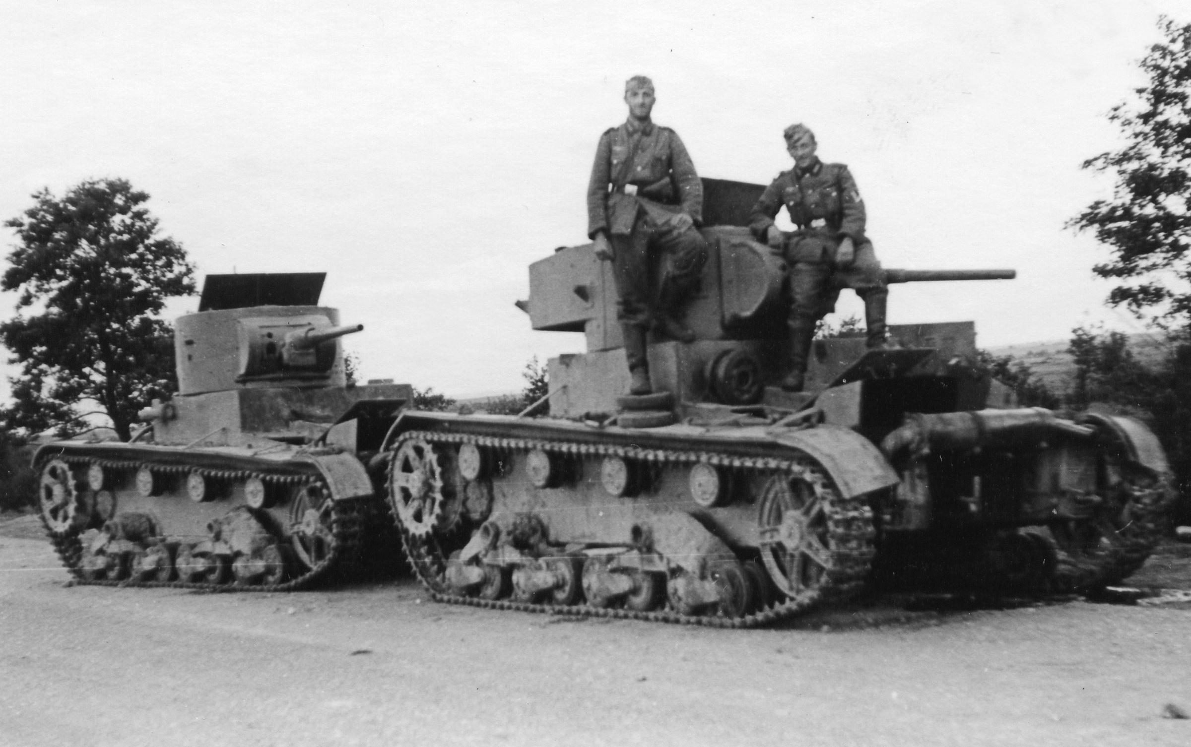 Брошенные танки т 26