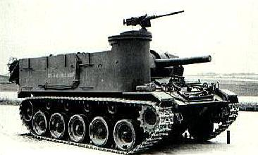 105mm Howitzer Motor Carriage M37