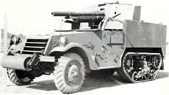 75mm Gun Motor Carriage M3